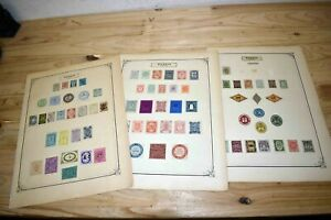Russia Zemstvo issues: Strong collection on old pages