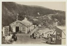 More details for port soderick the hotel isle of man - stereoviews seller 1893 photo by frith
