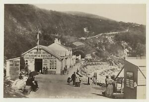 Port Soderick The Hotel Isle Of Man - Stereoviews Seller 1893 Photo By Frith