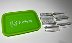 """Trulieve Silicone Rolling Tray 8"""" × 5.5"""" with Bonus 7 Packs of Papers FREE Ship!"""