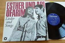 ESTHER & ABI OFARIM Lieder und Songs LP Philips  H813 Schallplattenclub