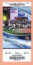 Baltimore Ravens New England Patriots 2016 ticket SuperBowl LI Tom Brady Falcons