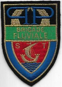 FRANKREICH Police Patch PP  PREFECTURE PARIS Polizei Abzeichen France B FLUVIALE