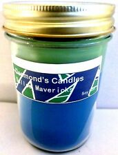 Desmond's Candles Homemade Scented Dallas Mavericks (Blueberry) Soy Jar Candle
