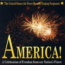 United States Air Force Band America! (& Singing Sergeants, 1994)  [CD]
