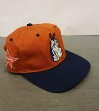 RARE Vtg 90s NICKELODEON Ren & Stimpy Mr. Horse BLOCK HEAD Snapback Hat TOON Cap