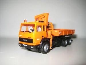 Herpa H0 141758 - Camión grúa de carga IVECO Turbo Star