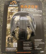 Walker's Game Ear Muff RAZOR Slim Electronic Hearing Protector 23 dB NRR KRYPTEK
