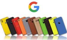 Carbon Leather Wood Chrome Gloss Skin Wrap Sticker Case Google Pixel XL 3 3XL