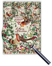 *EDITION TAUSENDSCHÖN*Geschenkpapier*Weihnachten*50 x 70cm*Romantic birds