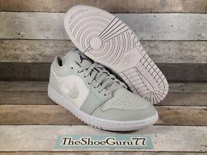 Nike Air Jordan Retro 1 Low OG White Camo Grey Sneakers Men's 11 DC9036-100