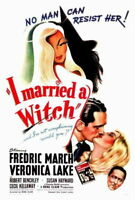 69474 I Married A Witch Veronica Lake, Fredric March Wall Print POSTER Plakat