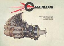 ORENDA ( AVRO CANADA ) 8, 9 & 10 JET ENGINE - REPAIR AND OVERHAUL INSTRUCTIONS