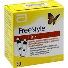 FREESTYLE Lite Teststreifen ohne Codieren 50St Teststreifen PZN 435991