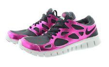 Nike 555340 Women's Free Run 2 Premium Ext Running Tennis Low Top Shoes Sneakers