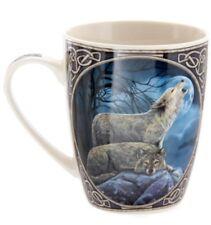 Fantasy Tasse Heulender Wolf Kaffebecher Wölfe Indianer Becher Kaffeetasse