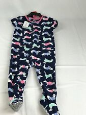 carters toddler girl Dogs Printed Sleeper Size 2T NWT