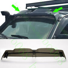 1x For Land Cruiser LC80 4500 91-97 Car ABS Front Upper Window Sunshade withLOGO
