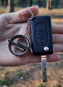 Best Price Wooden Opel Keyring Key Laser Cut Wood Car Keychain Natural