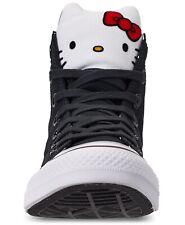 Girls Converse Hello Kitty CTAS Hi Sneakers Black/White Style:363911F Size: 13