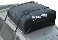 100% Waterproof Roof Top Cargo Carrier for any Car Van or SUV (15 Cu Ft, Black)
