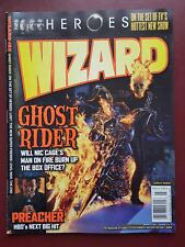 Wizard The Magazine of Comics #185 - March 2007 Ghost Rider #B1355