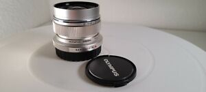 Olympus M.Zuiko Digital ED 12mm f/2 Lens Micro 4/3 - Silver