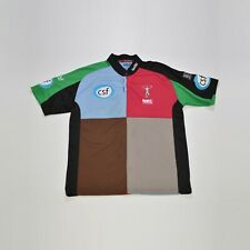 Men's Kooga Made for Rugby NEC Harlequins Rugby Jersey Polo Shirt Size XL