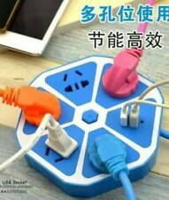 Hexagon Power USB Socket Extension (Blue)