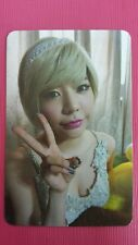SNSD SUNNY Official Photo Card 5th YOU THINK Girl's Generation Photocard