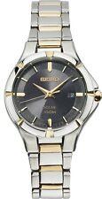 Seiko Essentials SUT316 Women's Silver & Gold Solar Watch