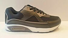 Hombre nuevo Negro Correr Gimnasio Casual Sport Jogging AIR entrenador zapatos talla 12/46