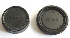 Nikon F Objektiv Rückdeckel & Gehäuse Deckel Kappe AF Rear Lens & Body Cap