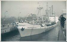 Turkish Mv Marmaris I at antwerp 1964 ship photo