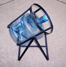 Metal Tilting Cradle Bottle Holder Rack For 3 or 5 Gallon Water Bottles Jug VGC
