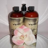 Wen Cleansing Conditioner Shampoo 2 x 16oz = 32oz SWEET ALMOND MINT Chaz Dean
