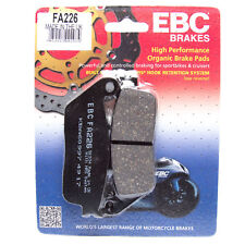 EBC ORGANIC FRONT BRAKE DISC PADS TRIUMPH TIGER 800 XC ABS 2011 - 2018 FA226