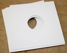 """10 WHITE CARDBOARD OUTER COVER SLEEVES JACKETS FOR LP'S 12"""" inch VINYL RECORDS"""