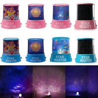 LED Star light Starry Night Lights Sky Projector Lamp Cosmos Master Kids Gift