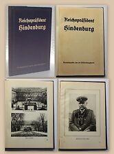 Stollberg Reichspräsident Hindenburg 1927 Militär Geschichte Biografie xy