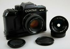 Contax 167 MT mit Yashica ML 1,7 / 50 mm + ML 2,8 / 28 mm  - sehr gut -