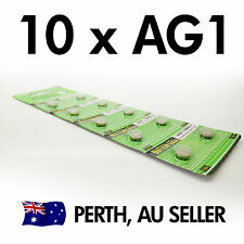 10 PCS x AG1 LR621 SR621SW 364A Alkaline batteries button cell coin