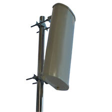 800-2500MHz Outside Big sector Panel antenna with 12dBi gain GSM 3G LTE N type
