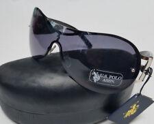 US POLO ASSN Sunglasses Black New w/ Tags & Hard Case Womens Unisex US SELLER