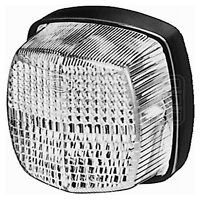 Position Light: Marker Lamp 12v with Clear Lens   HELLA 2PF 004 081-017