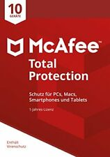 McAfee total Protection 10 Device (code In A Box) Stück