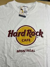 Hard Rock Cafe Montreal Canada (CLOSED) Classic Logo Large L T-Shirt NEW w/ Tags