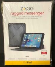 "ZAGG RUGGED MESSENGER WIRELESS KEYBOARD DETACHABLE CASE For 9.7"" IPAD BRAND NEW"