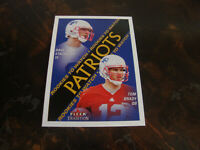 2000 Fleer Tradition Football---Rookie---#352 Tom Brady