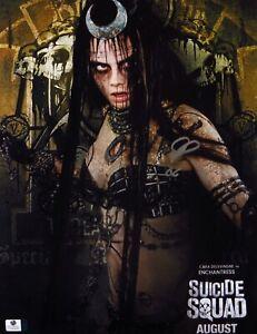 Cara Delevingne Signed Autographed 11X14 Photo Suicide Squad Enchantress 849448